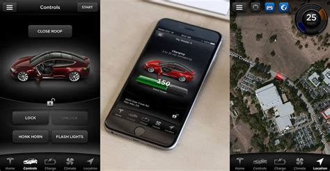 Tesla Car Apps by Stolen Tesla Tracked By In Real Time By Iphone App