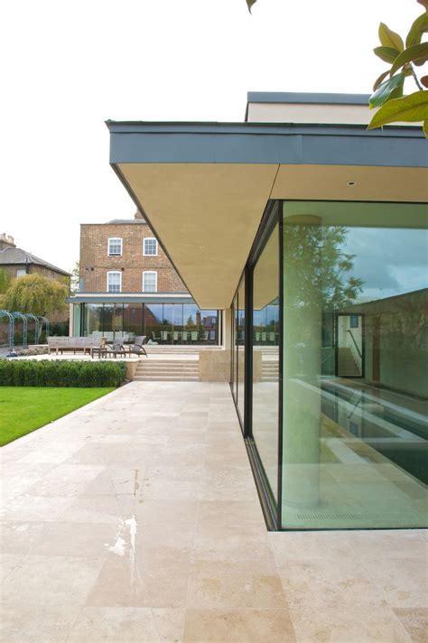 Modern limestone patio from Artisans of Devizes. www