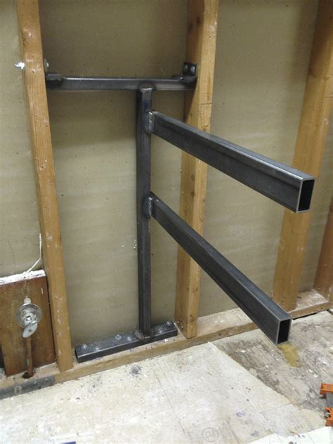 Floating Cabinet Brackets by Bathroom Cabinets Floating Design Corbin S Treehouse