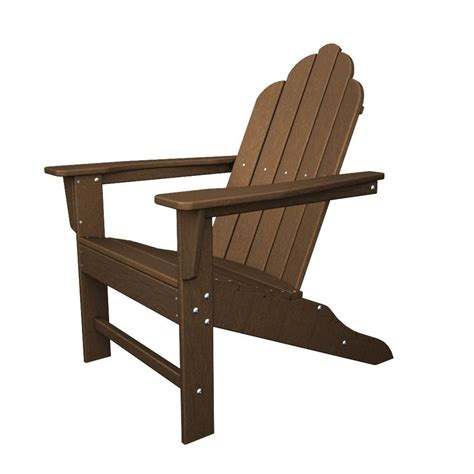 shop polywood island teak recycled plastic casual