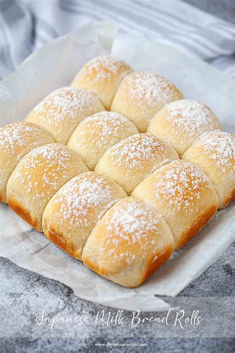 They are so ethereal in texture, and stay fresh and soft for days. Japanese Milk Bread Rolls (Hokkaido/Snow Bread)| Oh My Food Recipes