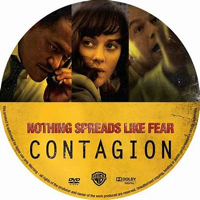 Contagion Dvd Cd Covers Custom Disc Labels