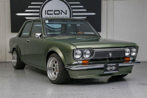New Datsun 510 by Datsun 510 Custom Green 1973 Datsun 510 Custom
