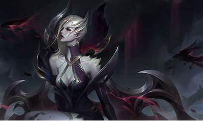 Morgana Coven Lol League Fan Legends Artstation