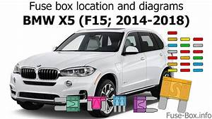Fuse Box Location And Diagrams  Bmw X5  F15  2014