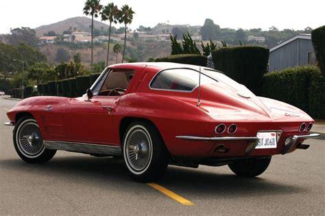 1963 Chevrolet Corvette Fi Split Window Coupe