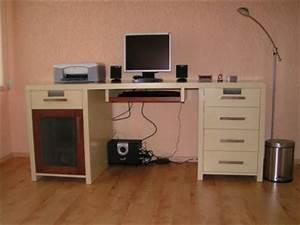 Meuble Ordinateur Salon : bureau informatique ordinateur moderne mobilier bureau meuble marcelis luc ~ Medecine-chirurgie-esthetiques.com Avis de Voitures
