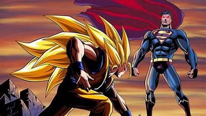 Goku Superman Wallpapers Heroes Meme Dragon Ball