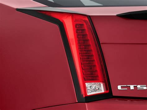 image  cadillac cts  coupe  door coupe tail light