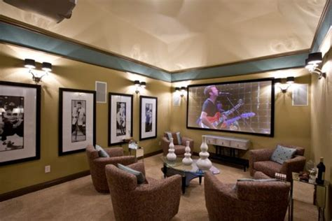 Modern Media Room Designs That Will Blow You Away