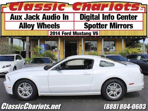 2014 Ford Mustang V6 With Alloy