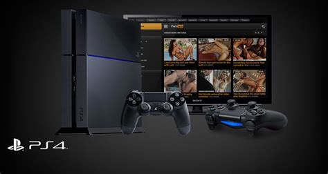 Use Your Sony Playstation Ps4 For The Hottest Porn Movies