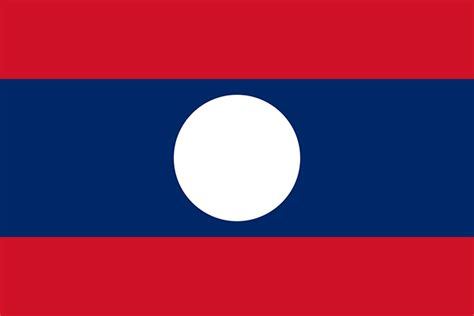 The History Of Laos National Flags
