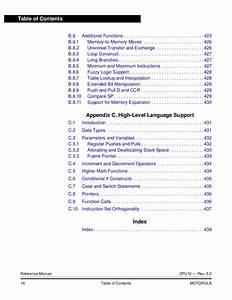 Cpu12 Reference Manual