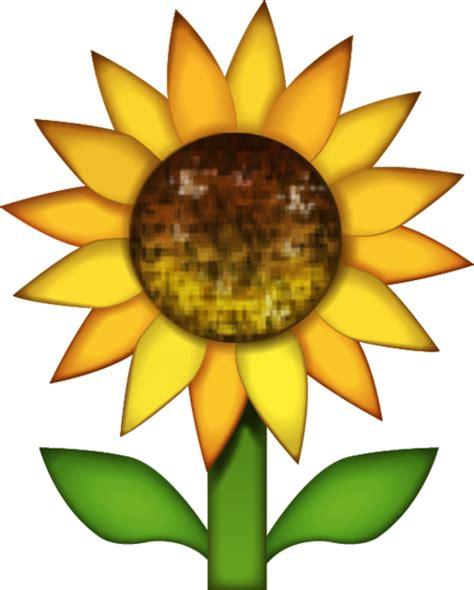 Download Sunflower Emoji Image In Png  Emoji Island