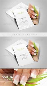 Nail art manicure business card by esteeml graphicriver for Manicure business cards