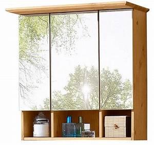 Spiegelschrank Badezimmer Holz : spiegelschrank vili breite 60 cm massivholz kiefer ~ Markanthonyermac.com Haus und Dekorationen