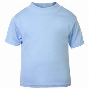 Baby and Toddler Blank Short Sleeve Tee in Light Blue by ...