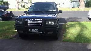My 1996 Range Rover P38 Driving