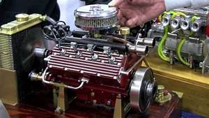 Mini V8 Motor : scale model running challenger flathead v8 by ron colonna ~ Jslefanu.com Haus und Dekorationen