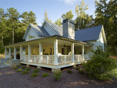 wrap around front porch southern farmhouse style exterior really like the way