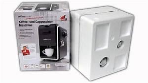 Kaffeemaschine Mit Milchaufschäumer : coffeemaxx kaffeemaschine caappuccino maschine mit milchaufsch umer unboxing youtube ~ Eleganceandgraceweddings.com Haus und Dekorationen