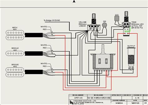 Hsh Way With Mini Switch For Split Coil Wiring Diagram