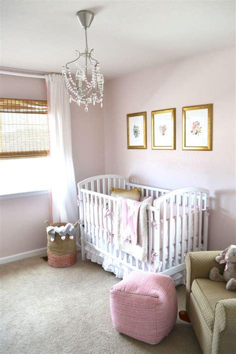 pretty  pink nursery project nursery