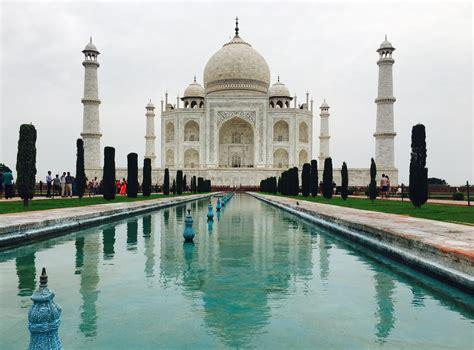 Taj Mahal Agra India Story Of A Symmetrical Love