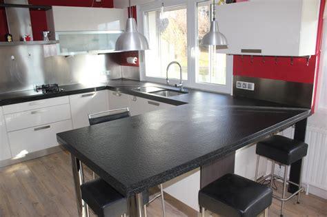 cuisines andré cuisine granit noir flammé brossé granit andré