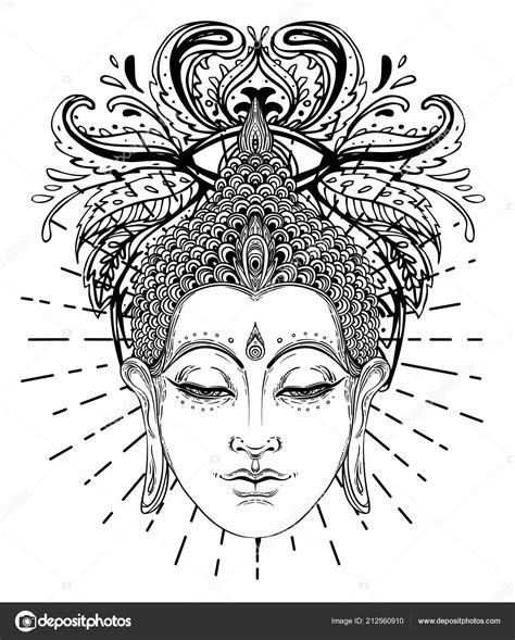 Spirituele Kleurplaten by Buddha Gesicht 220 Ber Reich Verzierte Mandala Runden Muster