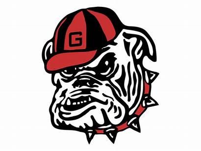 Georgia Bulldogs Svg Clipart Transparent Ga Vector