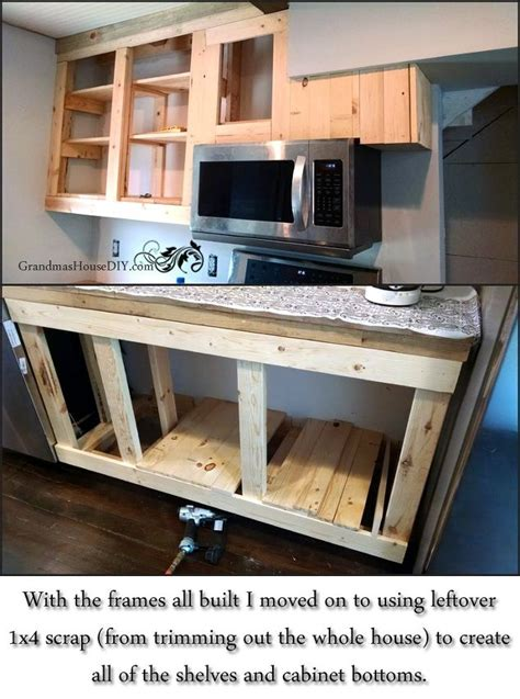build your own kitchen cabinet 21 diy kitchen cabinets ideas plans that are easy 7981
