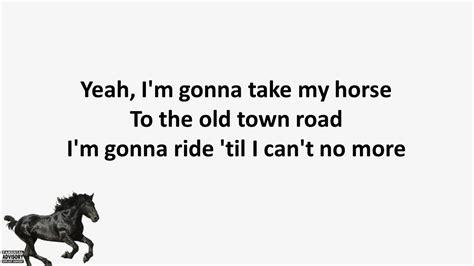 Lil Nas X - Old Town Road (Lyrics) Tik Tok Song | Old town ...