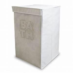 Panier A Linge Pliable : panier linge pliable bath blanc ~ Dailycaller-alerts.com Idées de Décoration
