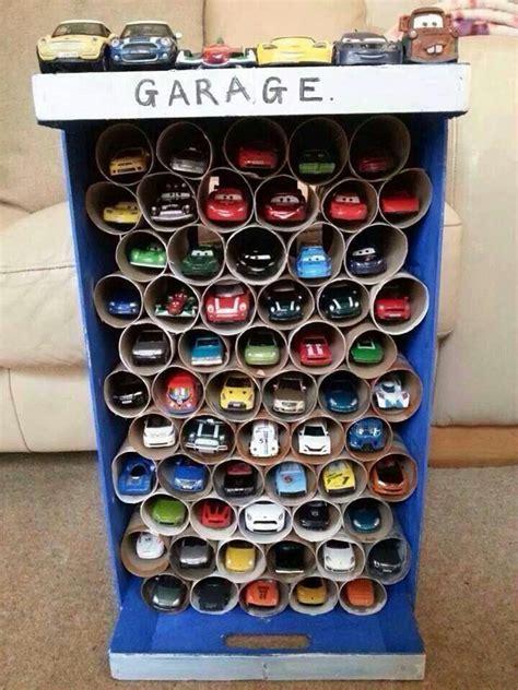 Diy Car Garage For Kids  For Jonah Pinterest