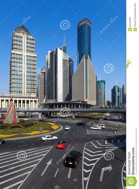 street views  shanghai stock photo image