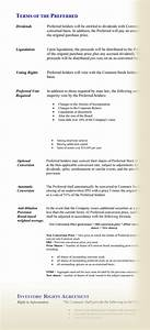 image gallery term sheet With investor term sheet template