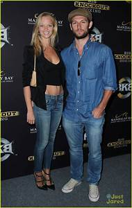 Alex Pettyfer Makes First Official Appearance with ...