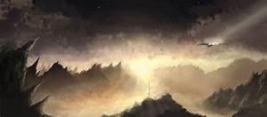 Alien planetscape by joelpear on DeviantArt