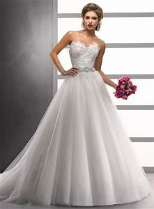 chic lace princess wedding dresses for classical bridal With a line princess wedding dress