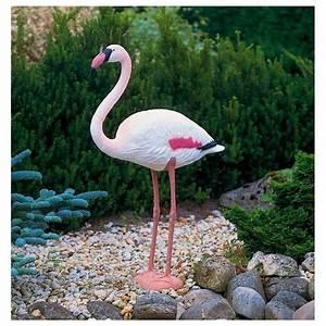 Statue Flamant Rose : flamant rose 90 cm en plastique ubbink oiseau migrateur achat ~ Teatrodelosmanantiales.com Idées de Décoration