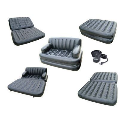 Air Sofa 5 In 1 by Air Lounge 5 In 1 Sofa Bed Telebrands