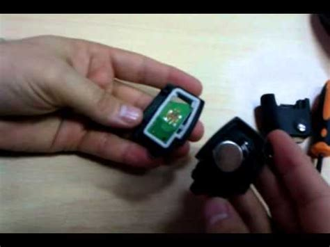 change  battery   ford remote key focus
