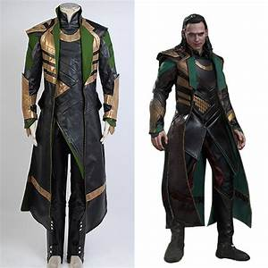 Thor 2 II The Dark World Loki Cosplay Costume Battle ...
