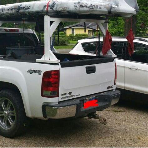 Boat Transport Racks by 25 Best Ideas About Kayak Truck Rack On Kayak