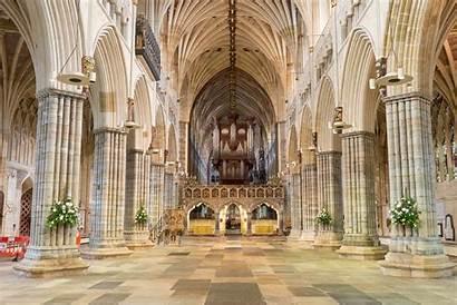 Exeter Cathedral Organ Church Churches