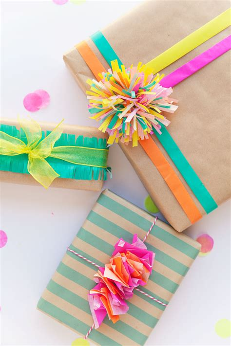 3 Fun Ways To Wrap With Tissue Paper  Tell Love And Party