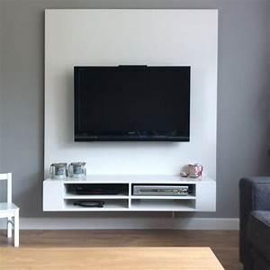 Tv Wand Modern : tv meubel maken tips ~ Michelbontemps.com Haus und Dekorationen