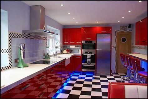 Cuisine Vintage Style 50'S Americain   Modern Home Design